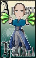 Commission Badge Arcanist Kolixela by kuroitenshi13