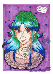 Traditional 5x7 Unnamed OC for twilightedgeart