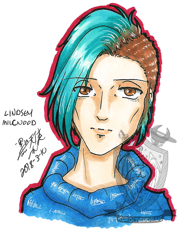 Traditional Lindsey Milcwood by kuroitenshi13