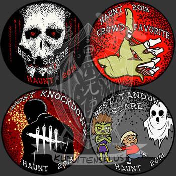 HWKNDS Merit Badges by kuroitenshi13