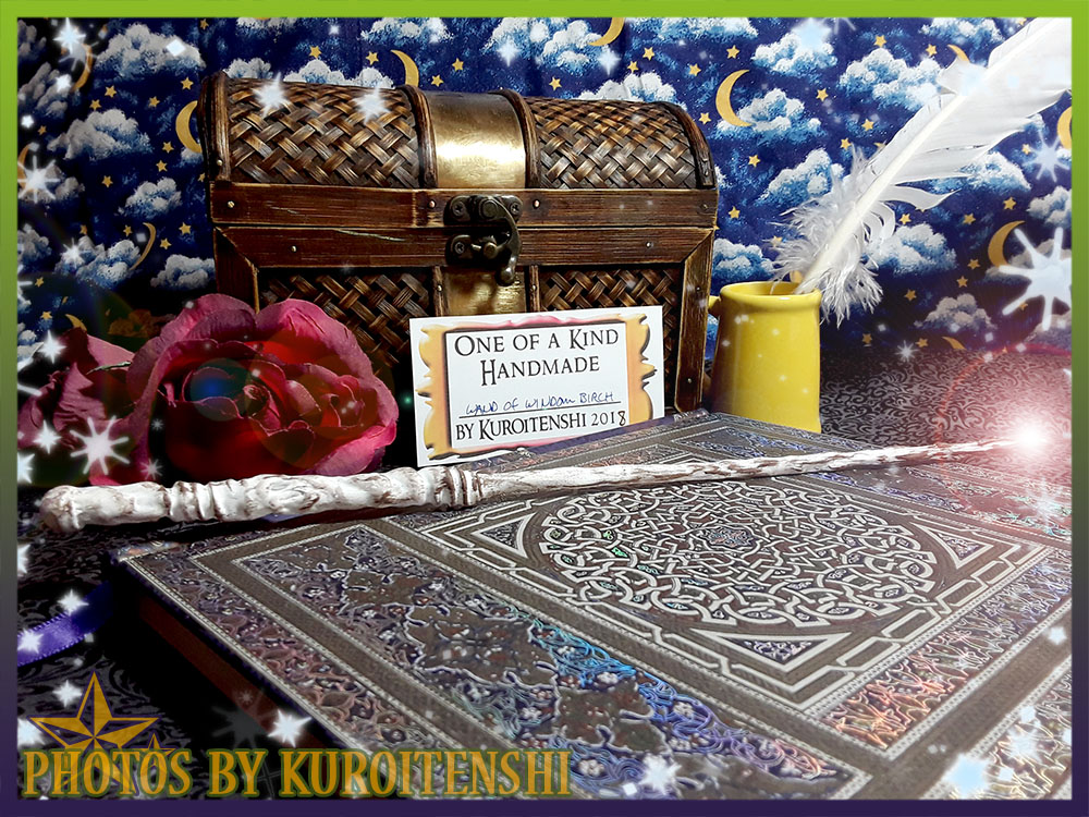 Wand of Windom Birch by kuroitenshi13