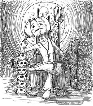 Pentober Pumpkin Head