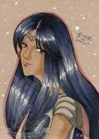 Toned Paper Sailormars by kuroitenshi13