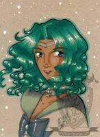 Toned Paper Sailorneptune by kuroitenshi13