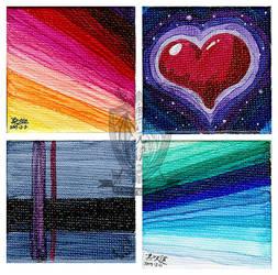 20190310 Mini Canvas Pieces Return