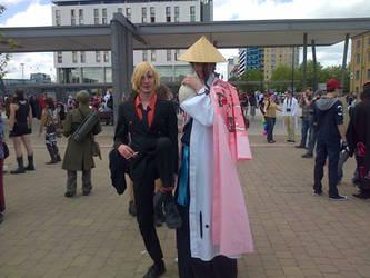 Sanji+Kyouraku