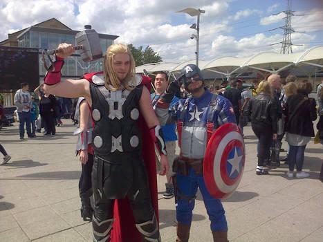 Cap'n'Thor!