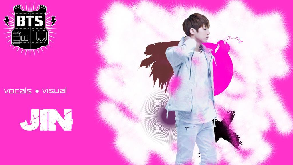 BTS Jin Wallpaper by kbtb on DeviantArt