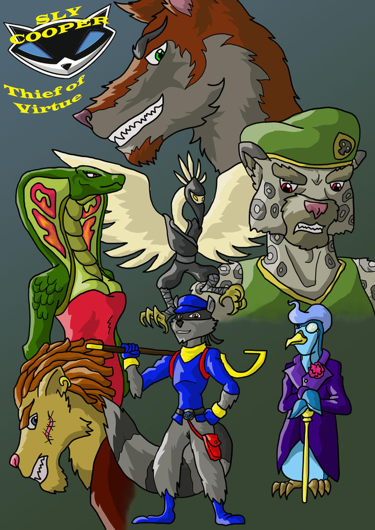 Sly Cooper Thief Of Virtue By Connordavidson On Deviantart