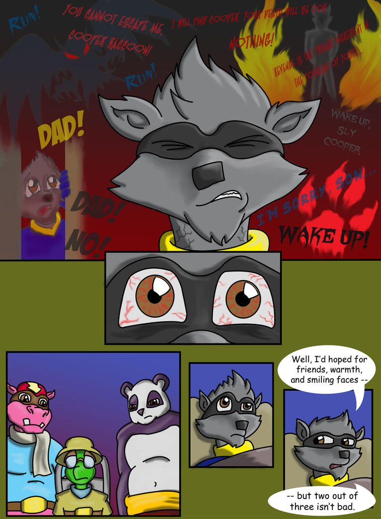 Sly Cooper Thief Of Virtue Page 62 By Connordavidson On