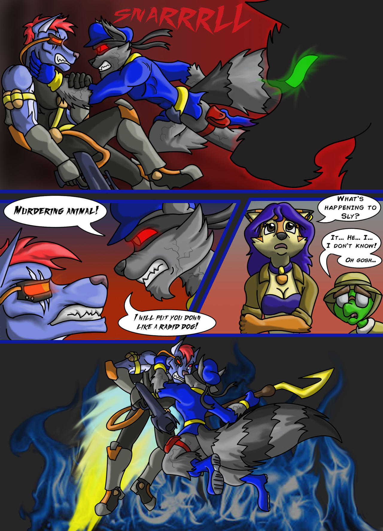 Sly Cooper Thief Of Virtue Page 158 By Connordavidson On