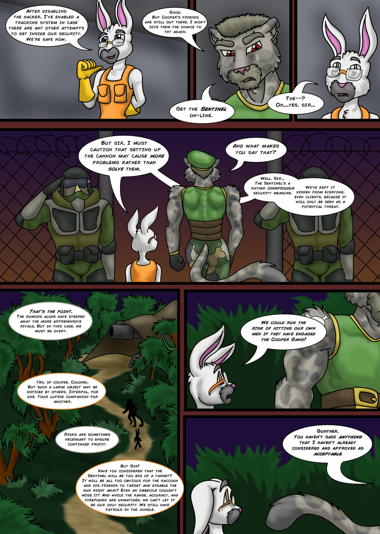 sly cooper thief of virtue page 272 by connordavidson on deviantart