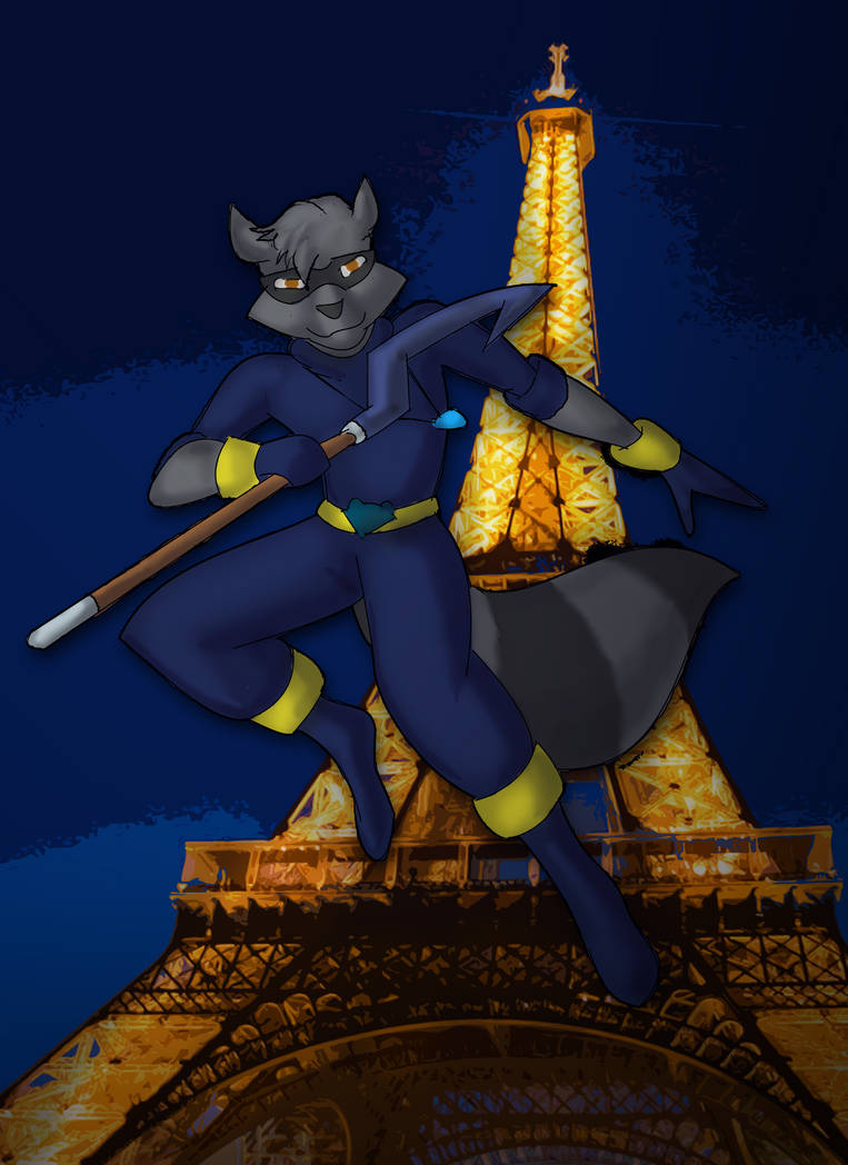 Daniel in Paris [Commission] by ConnorDavidson