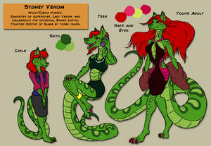 Sydney Venom - OC Ref Sheet
