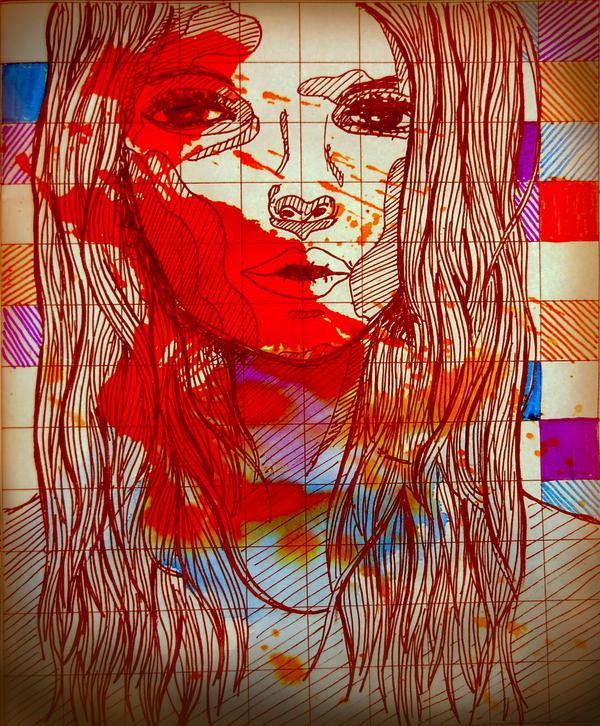 perempuan yang ku gambar by CoKolate