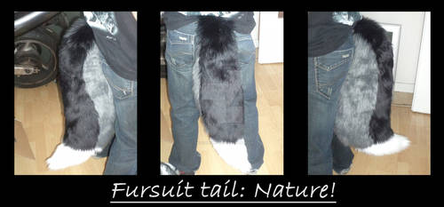 Finished Fursuit-Tail Commission