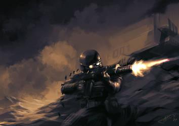 Random Soldier by Titanbolzen