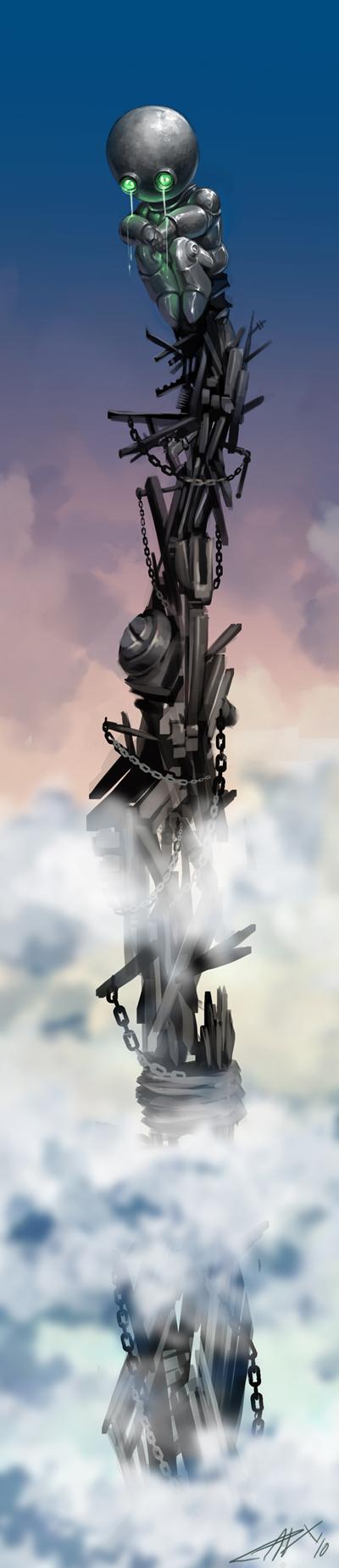 Lonely Robo by Titanbolzen