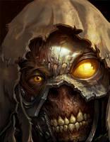 Zombieface by Titanbolzen