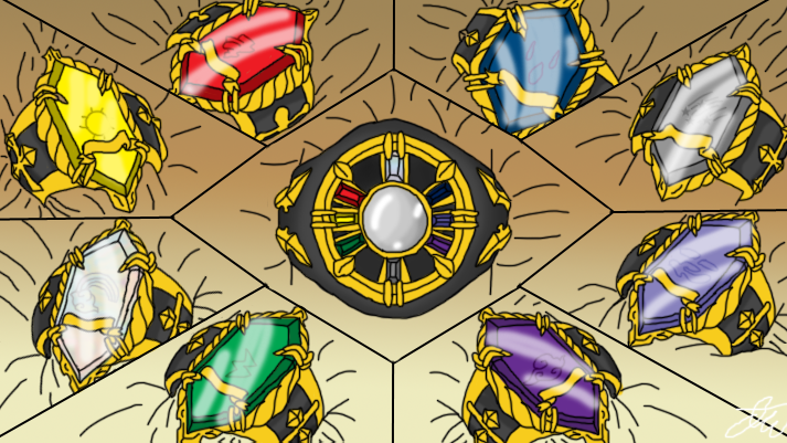 Vongola Rings And Boxes