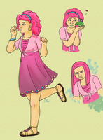 Pinkie Human by Topazpearl93