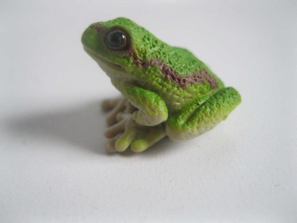 The Name of the Game [Schleich] - Page 2 Kermit_by_tezzieh-d9dzxw0