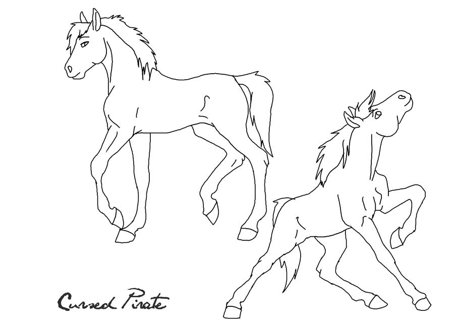 Dreamworks spirit coloring pages