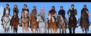The Obertaurer hunters