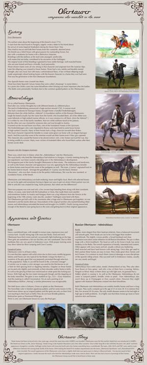Obertaurer History Sheet