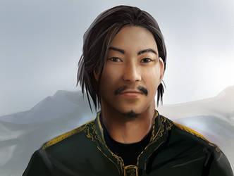 Mongolian Viking by abosz007