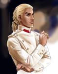Damon as Count Vronsky