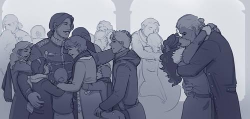 All The Hugs by abosz007
