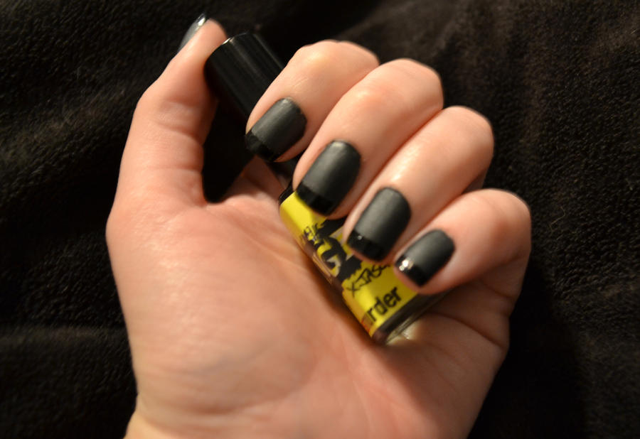 ManGlaze-Matte Is Murder and Orly-Liquid Vinyl by beautyinchains89 ...