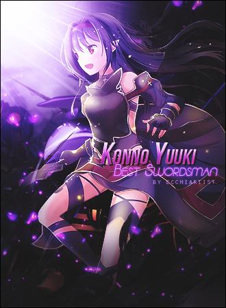 Konno Yuuki by ecchiartist