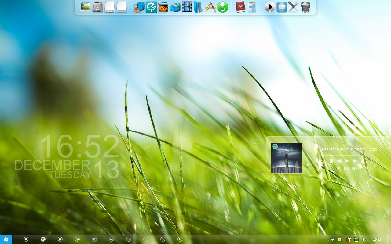 Windows 7 Screenshot by CJ35