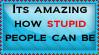 Stupid People by SkullKid0130