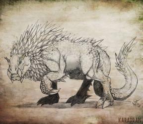 Fantastic Beastiary - Leoc by Karadram