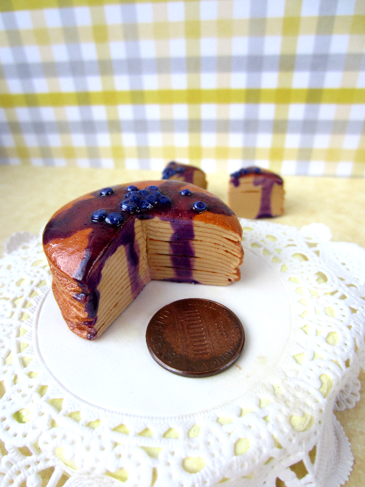 Blueberry Crepe Cake by Shacchan