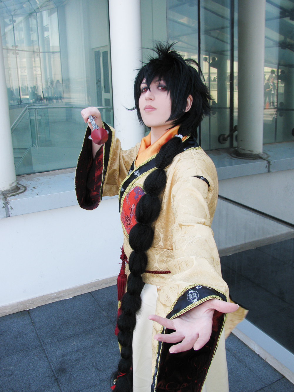 .:Magi:. The labyrinth of magic - Judal by Nekucosplay