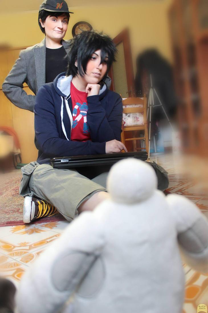 .: Hiro and Tadashi Hamada:. Big Hero 6 by Nekucosplay