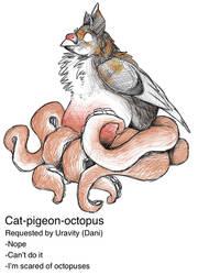 Cat-pigeon-octopus