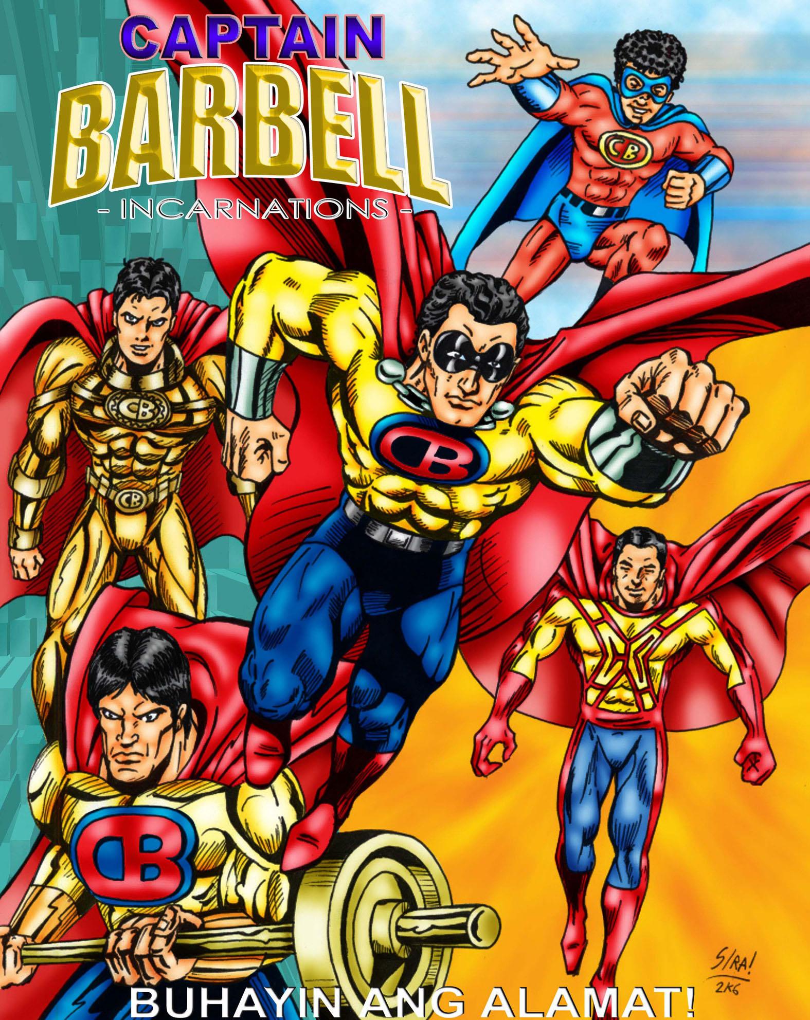 Captain barbell incarnations by plutoxbedan on deviantart for Barbel art