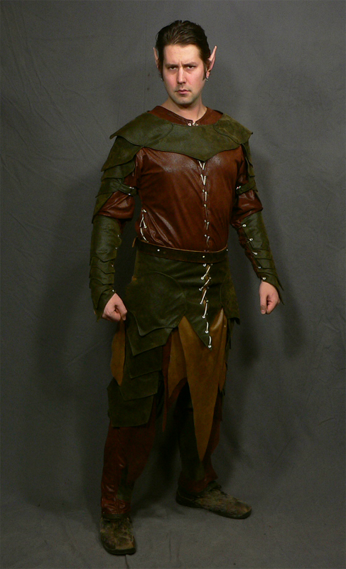 Drizzt Drow Ranger Costume by mbielaczyc