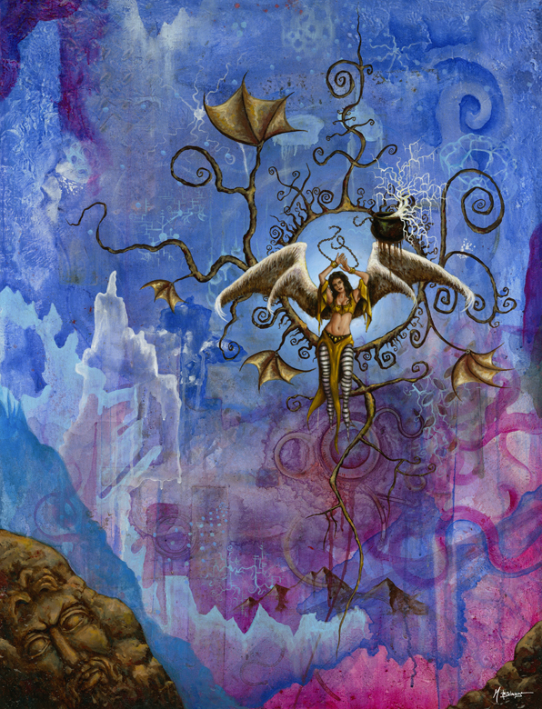 Pandora Unbound by mbielaczyc