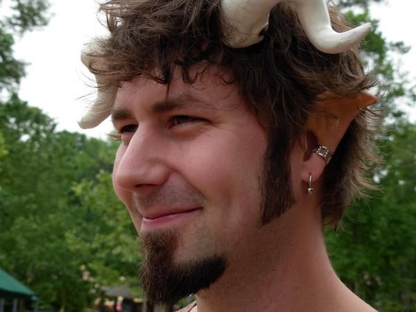 Me in Faun Costume GARF 2007 by mbielaczyc