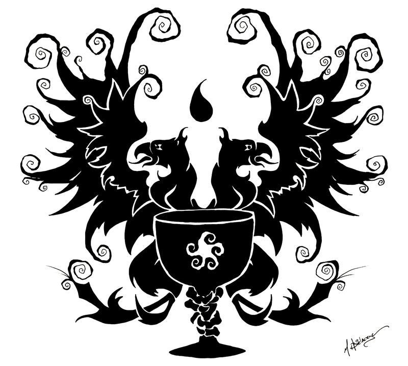 Grey Warden Griffon By Mbielaczyc On Deviantart