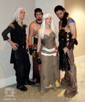 Dragoncon 2011 Game of Throne Group
