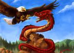 Rock, Dragon and Eagle!