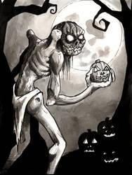 Happy Halloween - The Great Pumpkin by mbielaczyc