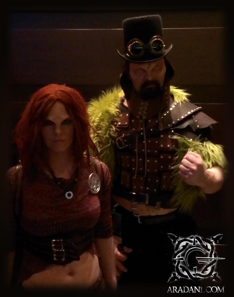Defiance cosplay - Irisa and Sukar Dragoncon 2013 by ...  Defiance cospla...
